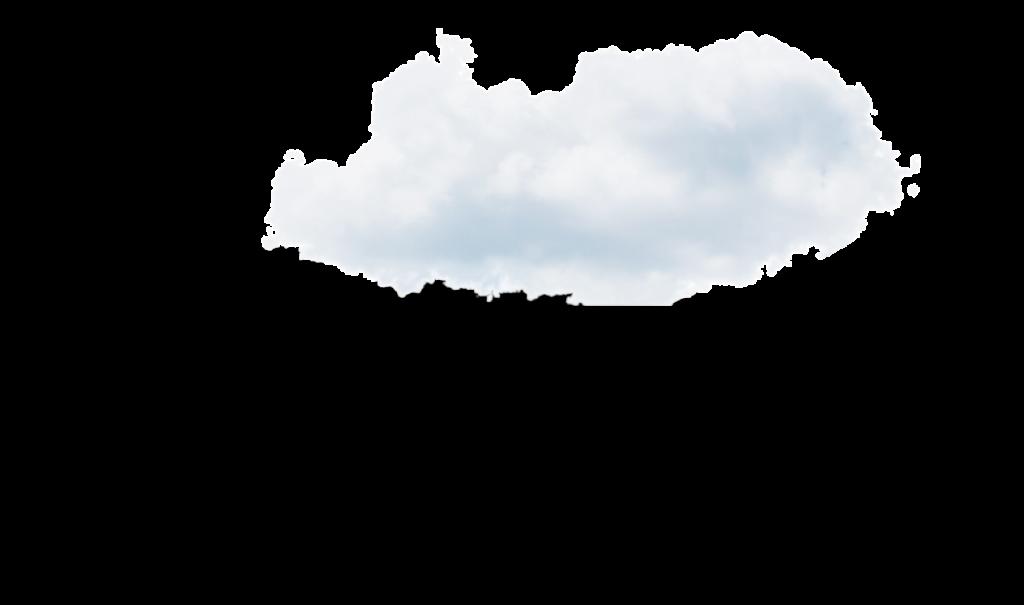 nuage avec ombre