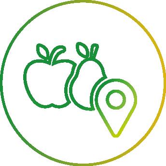 Picto distribution de produits locaux
